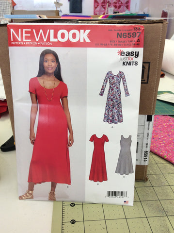 New Look Pattern 6597