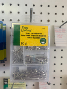 Dritz safety pin assort 90 ct