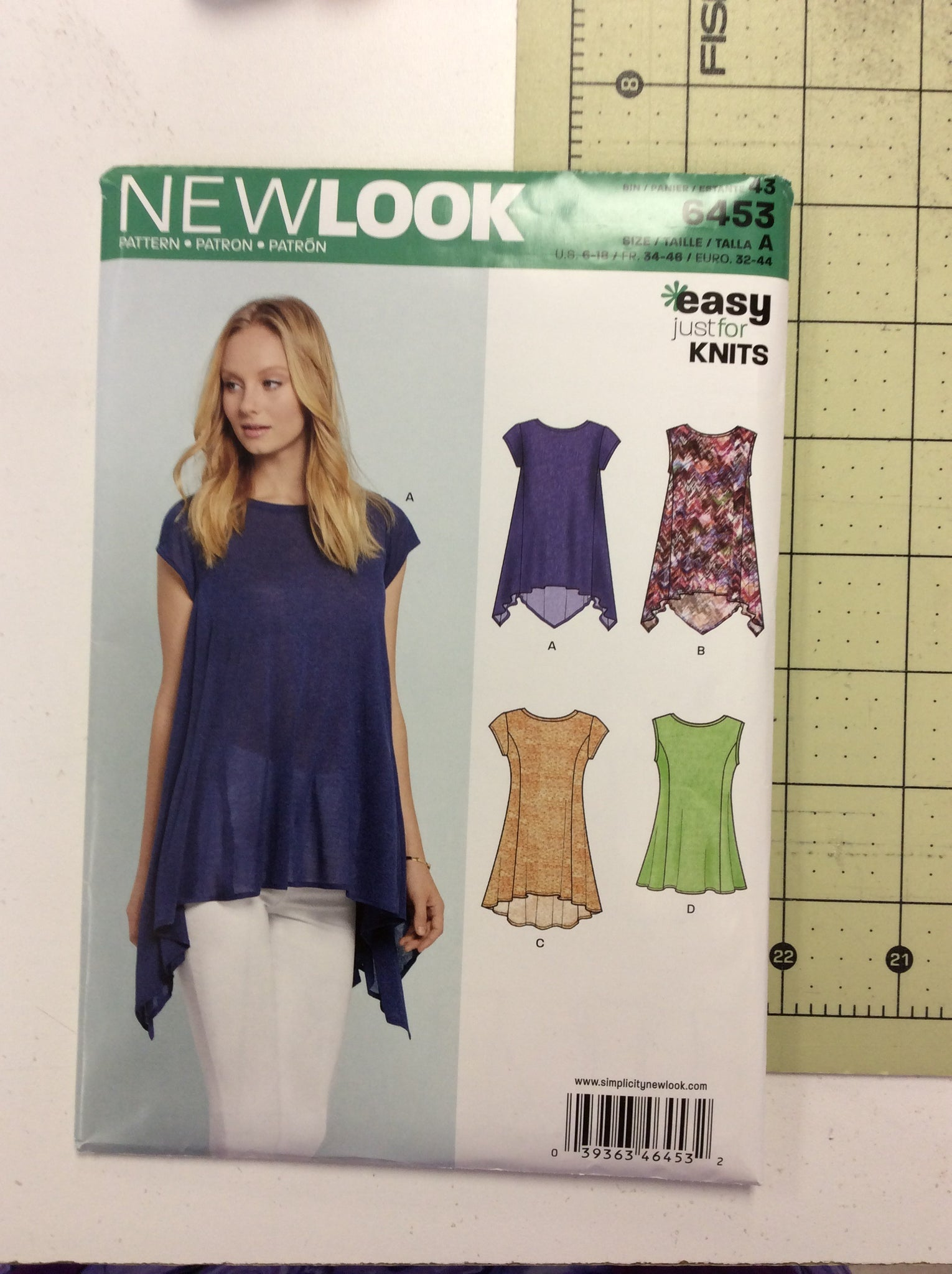 New Look Pattern 6453