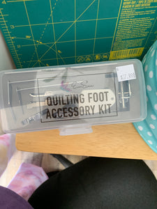 Eversewn quilting foot accessory kit