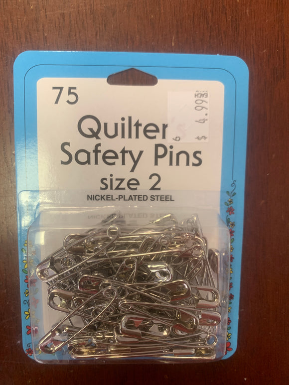 Safety pins size 2 75 ct