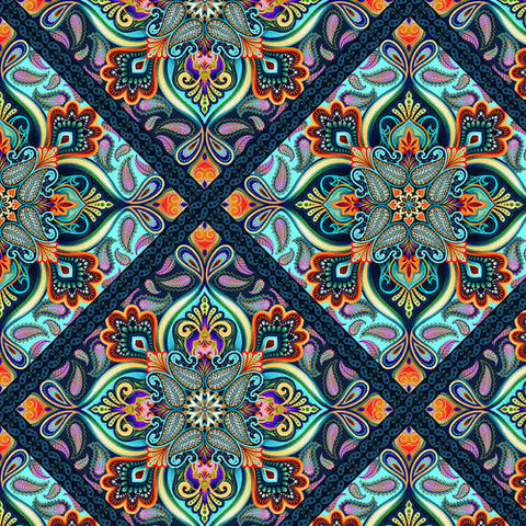 Blooming Paisley by Studio e