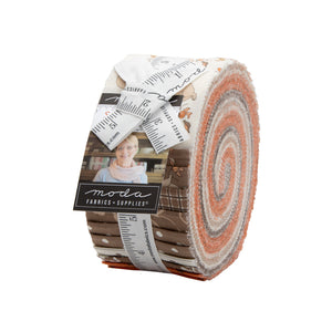 Squirrelly Girl Jelly Roll by Moda