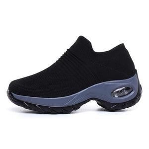 Fashion Mens Air Cushion Running Shoes Big Size Breathable Athletic Sneakers HOT