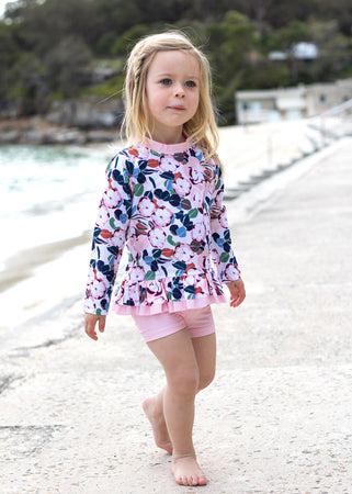 Clovelly in Pink Floral