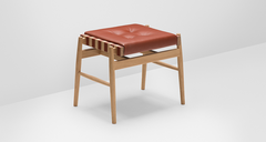 H Furniture // Leather Stool