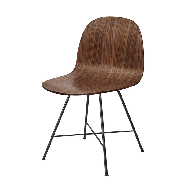 GUBI // 2D Dinning Chair Un-upholstered