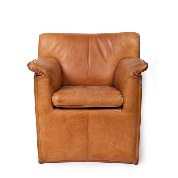 B&B Italy // Vintage Leather Chair