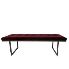 Ruth & Joanna // Fiona Bench Velvet Fabric