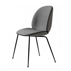 GUBI // Beetle Dinning Chair Fully-upholstered Black Base