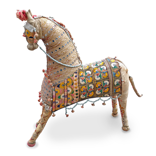 Indian wedding horse