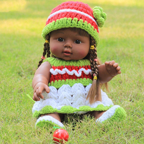 Sasha Girl Doll | Coloured Dolls - Coloured Dolls Black African brown baby