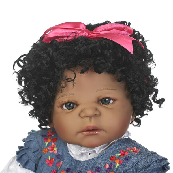 Lekisha Girl Doll | Coloured Dolls - Coloured Dolls Black African brown baby