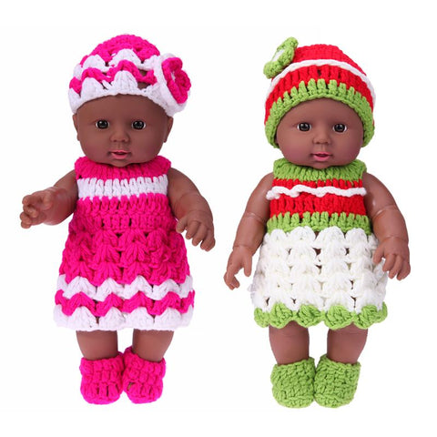 Tyrese & Malia Twin Dolls | Coloured Dolls - Coloured Dolls Black African brown baby