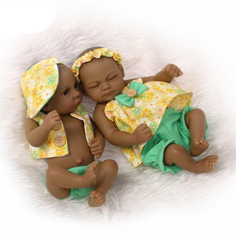 Emeka & Amaka Twin Dolls | Coloured Dolls - Unapologetically Coloured