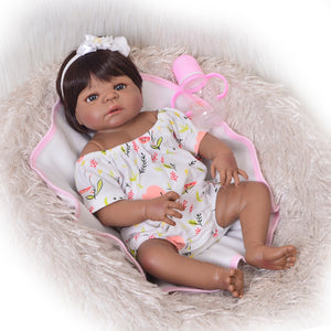 Kanisha | Coloured Dolls - Coloured Dolls Black African brown baby