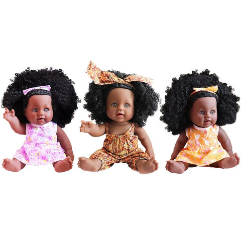 Lawna,Venus & Tatiana Girl Dolls | Coloured Dolls - Coloured Dolls Black African brown baby