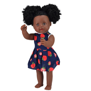 Lateefah Girl Doll | Coloured Dolls - Coloured Dolls Black African brown baby