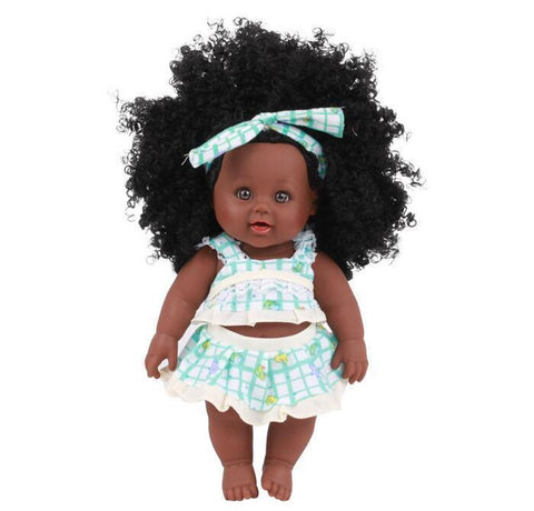 Tamekia | Coloured Dolls - Coloured Dolls Black African brown baby