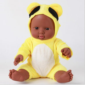 Latifah Girl Doll | Coloured Dolls - Coloured Dolls Black African brown baby