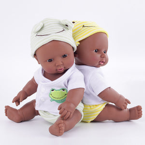 DeShawn & Monique Twin Dolls | Coloured Dolls - Coloured Dolls Black African brown baby