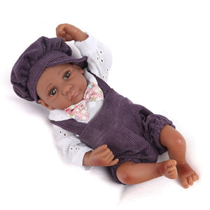 Denzel Boy Doll | Coloured Dolls - Coloured Dolls Black African brown baby
