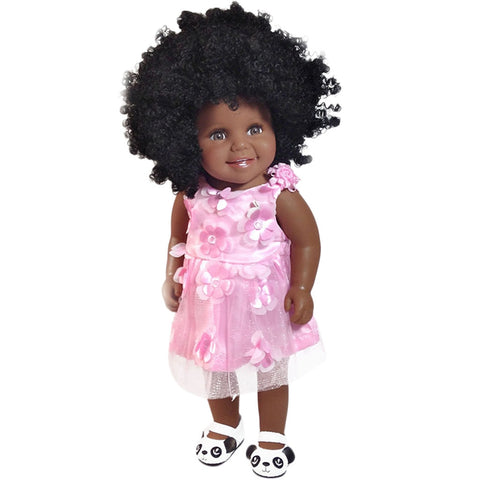 Aaliyah Girl Doll | Coloured Dolls - Coloured Dolls Black African brown baby