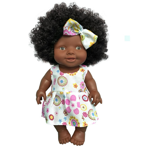 Shaniqua Girl Doll | Coloured Dolls - Coloured Dolls Black African brown baby