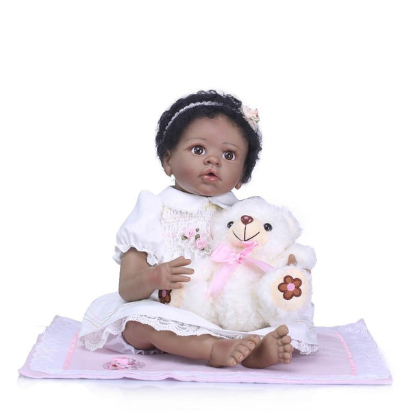 Sharmane Girl Doll | Coloured Dolls - Coloured Dolls Black African brown baby