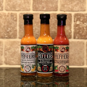 Collection Pack Type 1 - 3-Pack of Hot Sauces 5.5 fl oz