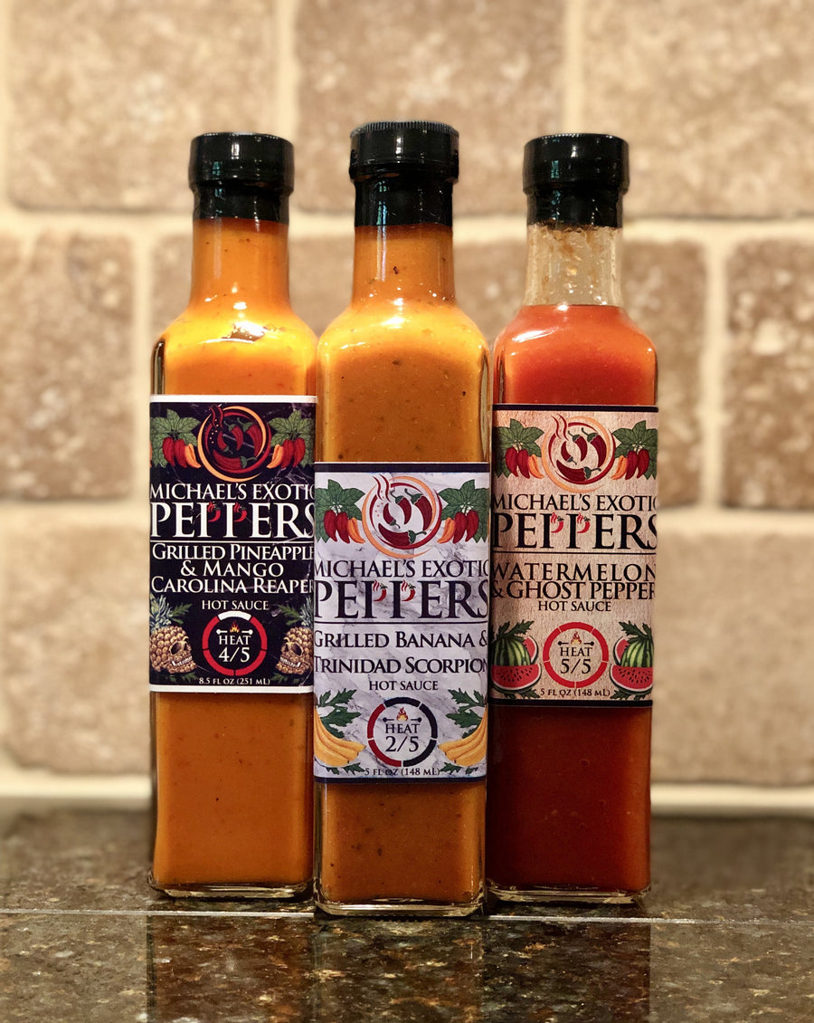Hot Sauce Collection 3-Pack Type 1 - 8.5 fl oz