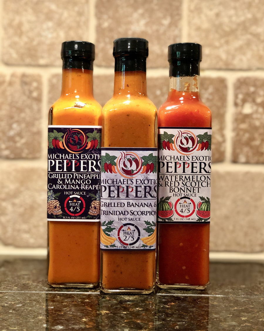 Hot Sauce Collection 3-Pack Type 2 - 8.5 fl oz