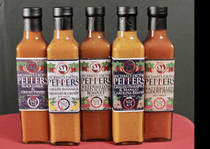 Hot Sauce Collection 5-Pack Type 3 - 8.5 fl oz