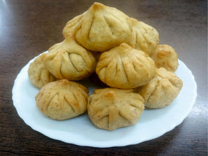 Fried Modak (Dry Coconut)