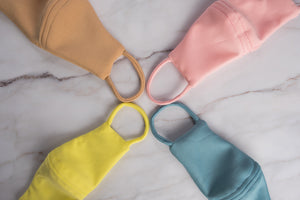 Rainbow Face Mask with Pocket (Kids)