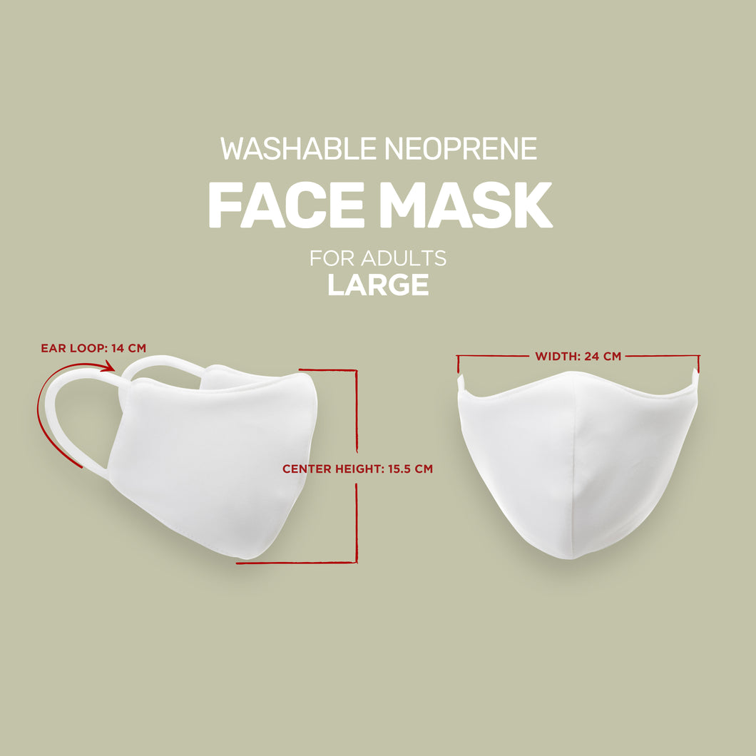Large Neoprene Face Mask