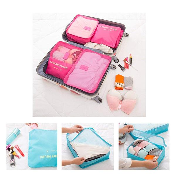 Travel Packing Organizer(6 PCS)-ACCESSORIES-hundredfeel.com-hundredfeel