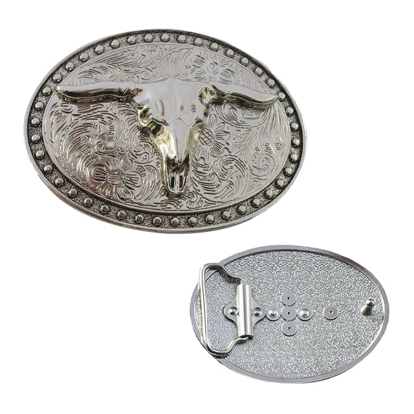 Metal Craft Belt Buckle-home&kitchen-hundredfeel-BULL-hundredfeel