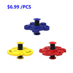 Fingertips Bounce Decompression Gyroscope-toys-hundredfeel-($6.99 PER PCS)BLUE+RED+YELLOW-hundredfeel
