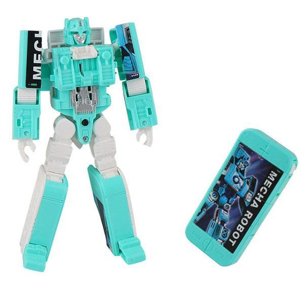 Robot Deformed Watch/Deformed Mobile Phone-toys-hundredfeel.com-BLUE(PHONE)-hundredfeel