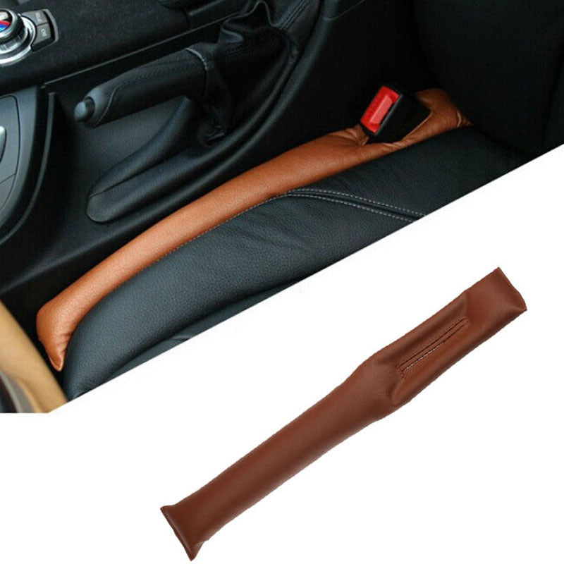 Faux Leather Car Seat Gap Pad Fillers Holster Spacer Filler-tools-hundredfeel-BROWN-hundredfeel