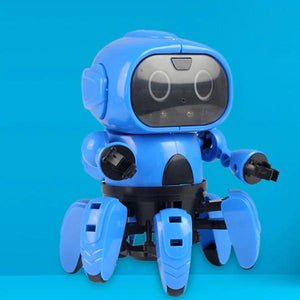 DIY Assembled Electric Robot Induction Educational Toy-toys-hundredfeel.com-hundredfeel