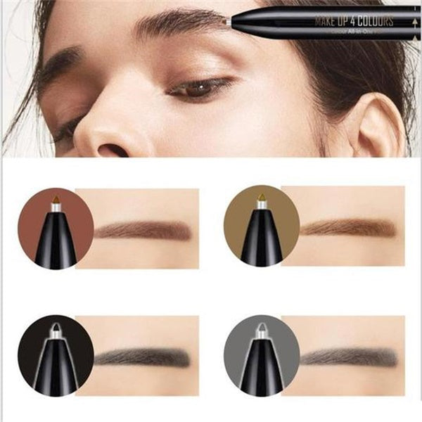 4 In 1 Multifunctional Automatic Eyebrow Pencil-beauty-hundredfeel-4 in 1-hundredfeel