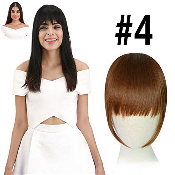 One Piece Clip in Hair Bangs