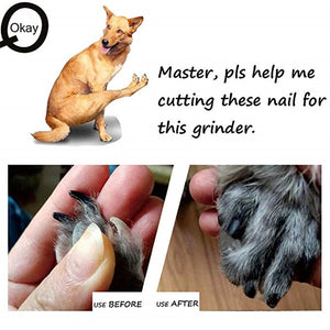 Safety Pet Nail Trimmer Pets Nail Grinder