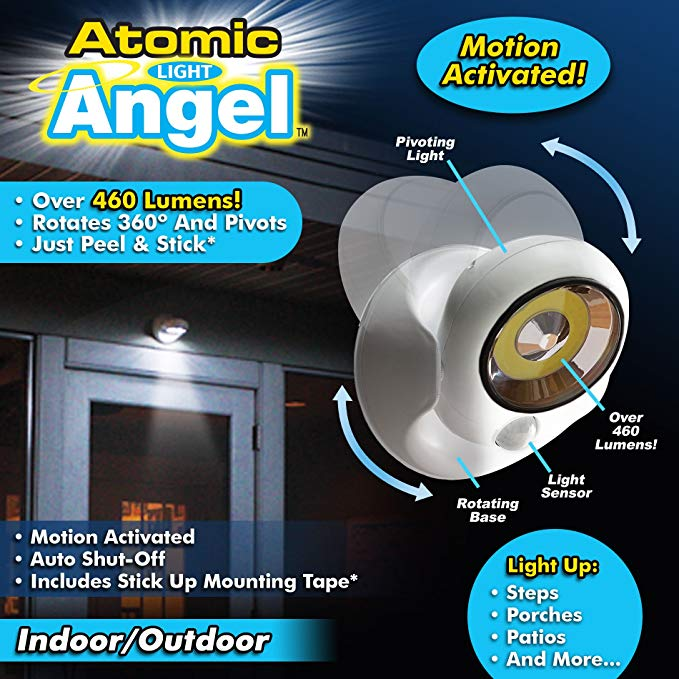 Automic Light Angel Cordless Motion Activated LED Light-home&kitchen-hundredfeel-hundredfeel