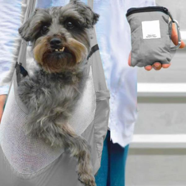 Compact Pet Carrier for Dogs & Cats-Pets-hundredfeel.com-Gray-hundredfeel