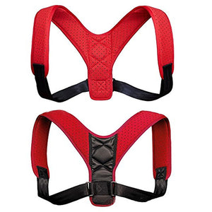 Posture Corrector for Men & Women-beauty-hundredfeel-RED(65%OFF)-hundredfeel