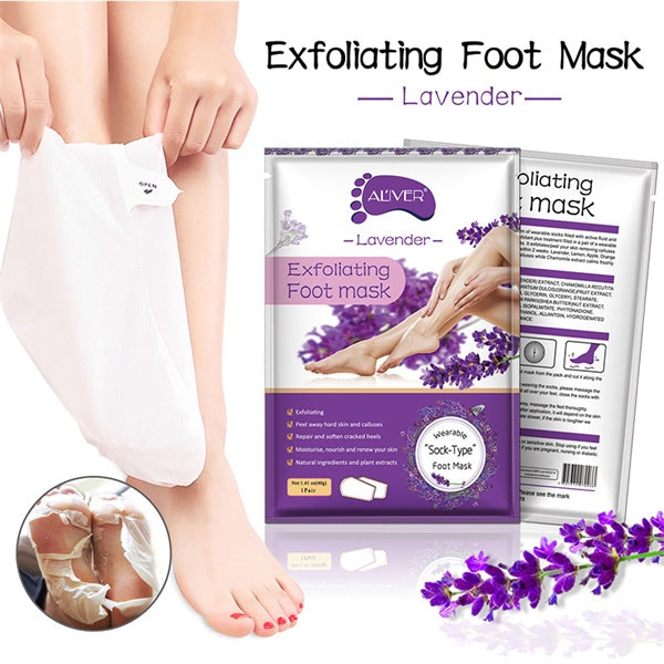 Exfoliating Callus Remover Lavender Foot Peel Mask-beauty-hundredfeel-hundredfeel
