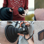ULH: Ultimate Lens Hood Fit to Any Lens-Outdoor Recreation-hundredfeel-hundredfeel